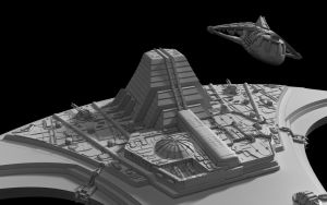 SGU Destiny  WIP 2 by Stefan1502