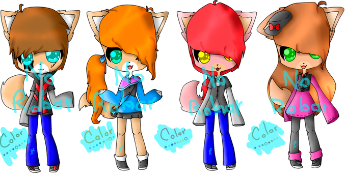Adoptables 44 by liliVampire
