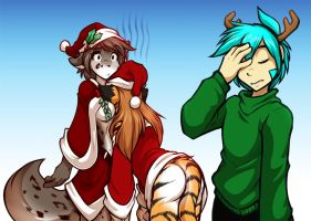 Xmas Aftermath by Twokinds