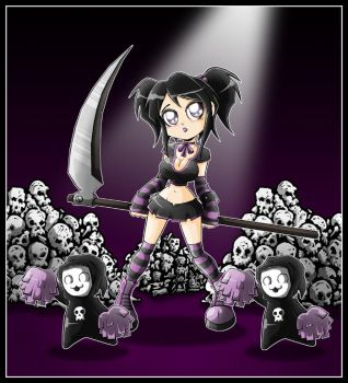 Death cheer squad by Carlos-the-G
