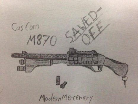 M870 custom by ModernMercenary