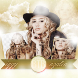 PNG Pack (117) Iggy Azalea by blacktoblackpngs