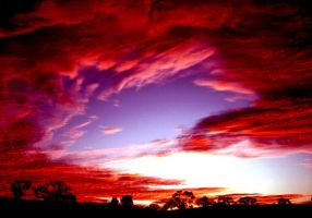 Red Sky by brianandthewoman