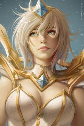 Elementalist Lux Light - LoL (gift) by Sciamano240
