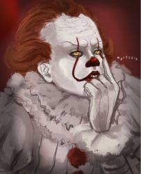 Bored pennywise by Martsuia