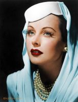 Hedy Lamarr by NorthOne