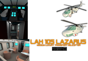 LAH 105 Lazarus Medium Helicopter by Gwentari