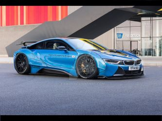 Bmw i8 LibertyWalk by Faik05
