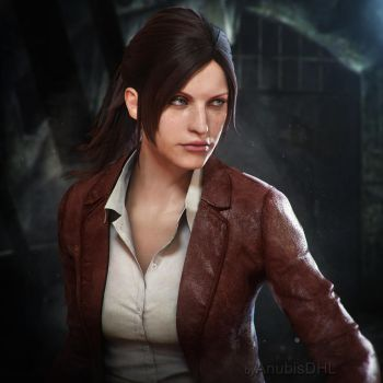 Claire Redfield by AnubisDHL