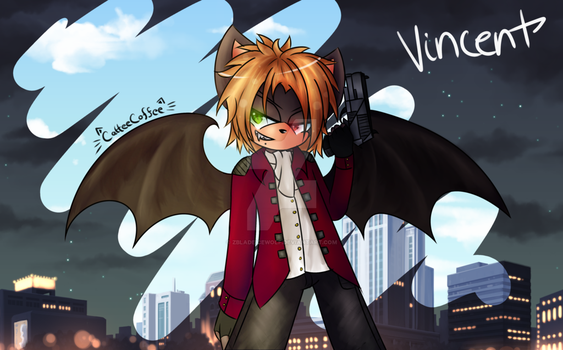 Vincent the Vampire Bat by Zbladeicewolf