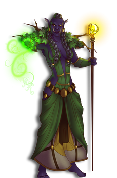 Commission:  Anjula by MischiArt