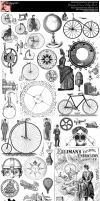 Steampunk Curios College Sheet by Bnspyrd