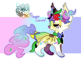 [SoulFox Advent] Day 5 : Flower Crowns by SetSaiI