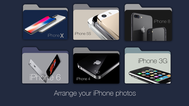 Folders for your iPhone Photos by janosch500