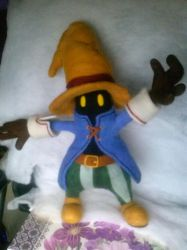 Needle Felted Vivi from Final Fantasy IX by CreationsbyFrost