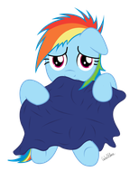 Filly Rainbow Dash: W-Who are you? by ColonelWalther