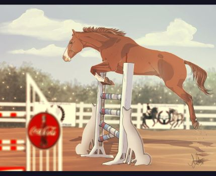 .:SFE Free Jumping - Entry:. by BlueMoonStables