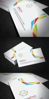Clean Corporate Business Card by glenngoh
