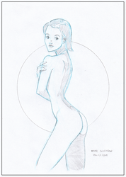 Figure Study - Wednesday Morning by MichaelCrichlow