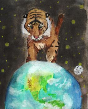 cats rule this earth by iknomyabcdsn123s