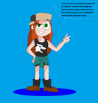 Gravity Falls - Wendy at her best by TXToonGuy1037