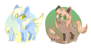 OPEN 1/2 MLP Pony Adoptables by GalaxiesAdoptables