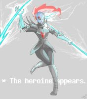The Heroine Appears by TimTam13
