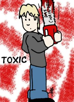 Caricature: Toxic by Luprand