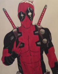 Deadpool by Lilmissandrea89