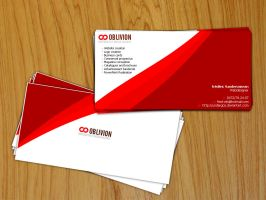 Oblivion_BusinessCard by undergoo