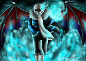 Demontale: Demon Sans by Snilaze