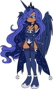 Princess Luna Concept 1.1 by SomaRuiz