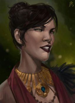 Morrigan by froxtain