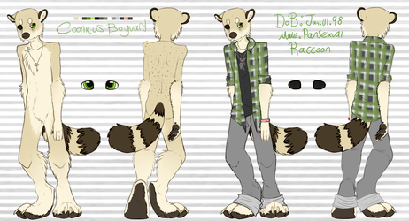 coonicus butticus anthro reference by FlSHBONES