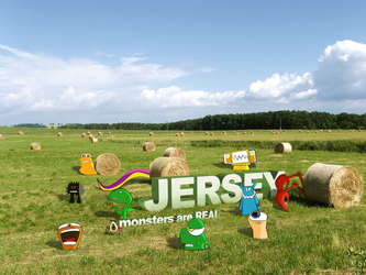 Jersey - monsters are real by deino-erd