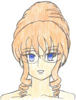 Hypnosis Hairdo and Glasses -Color Version- by Chicken-Yuki