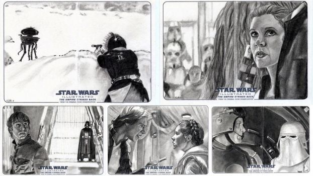 Topps ESB Illustrated 2 by khinson