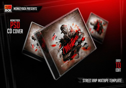 Street Rap Mixtape Template by AndyDreamm