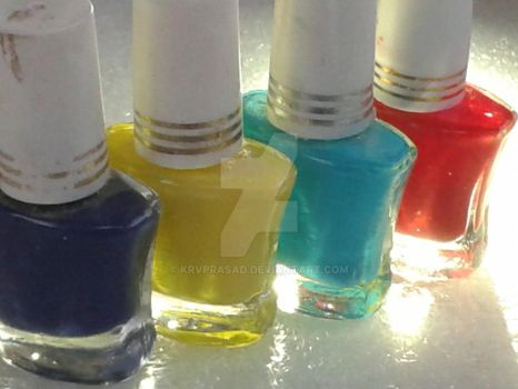 nail coloring by KRVPRASAD