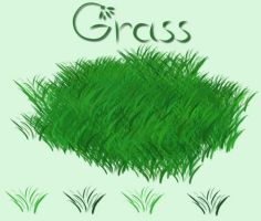 GRASS brush by SweetCandyDreams