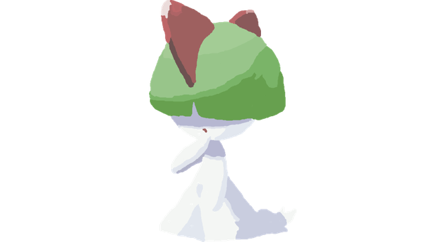 Ralts by Ilovebookssomuch
