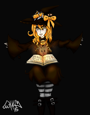 October Witch by HeavenlySatanic