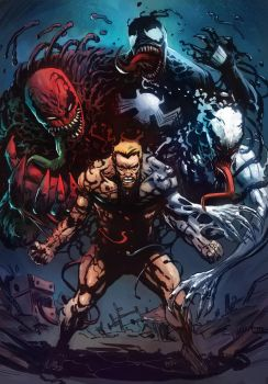 Eddie Brock's Symbiotes by Taclobanon