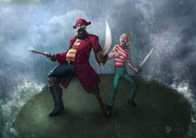Pirates of the Candied Island by dartbaston