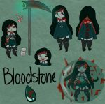 Gemsona:Bloodstone by PrincessPigeon