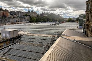 The rooftops of Waverly Station by sequential