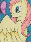 ACEO - Fluttershy by purenightshade