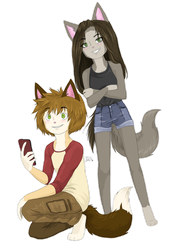 Cole and Cathy by NinjaTanner