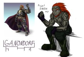 Project SMASH - Ganondorf by Krowjak