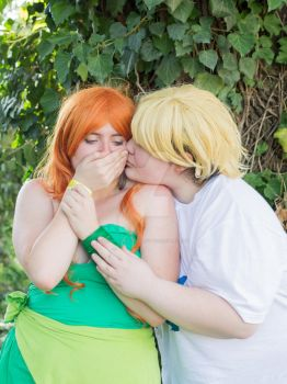 Izzy and Owen - The cutest couple by HarunyaanCosplay
